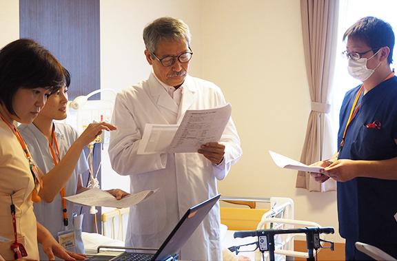 慢性期医療への思い、内田病院における実践−患者さんに選ばれる病院であるために