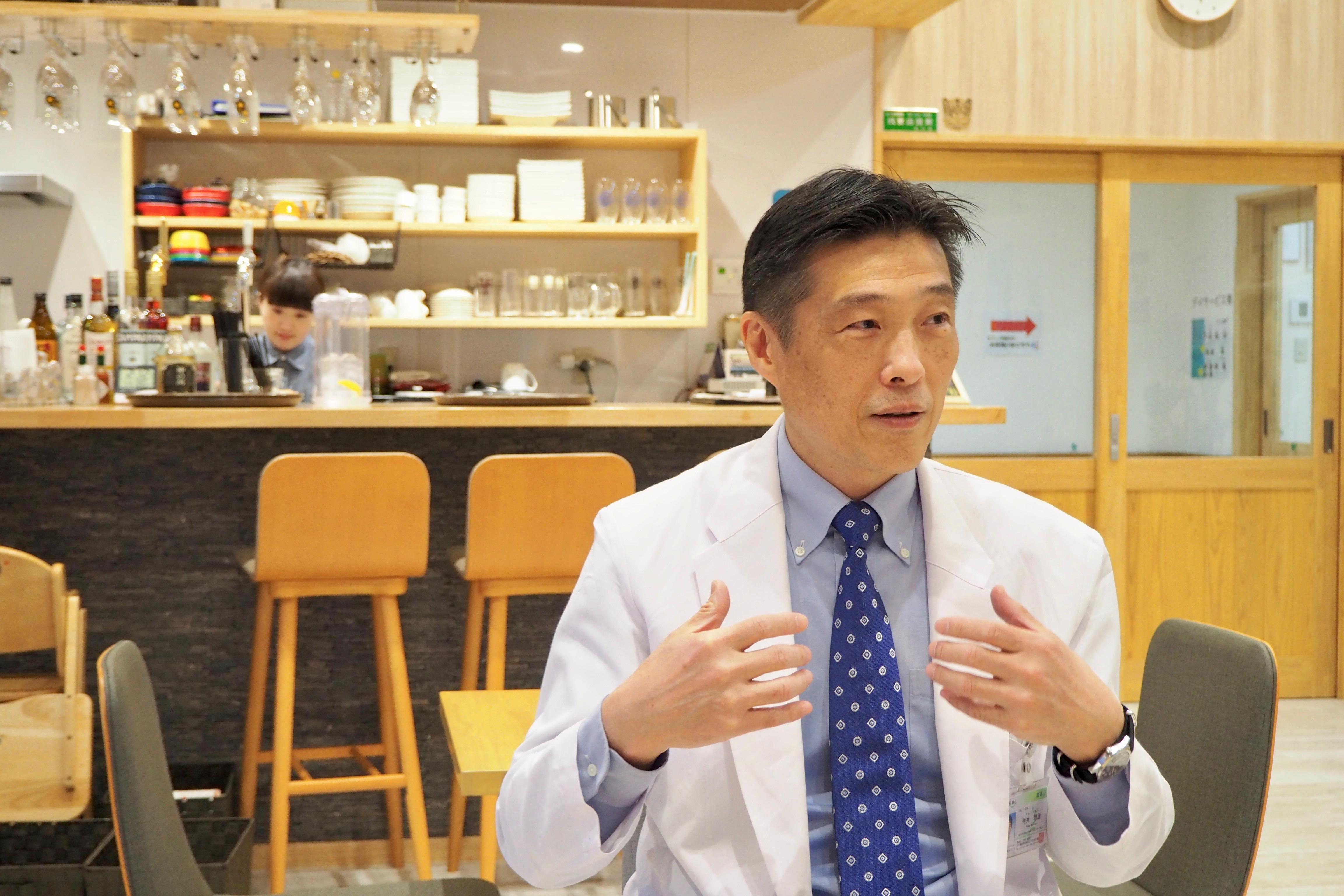 地域に貢献し、「共に生きる社会」を実現したい−仲井培雄先生の思い