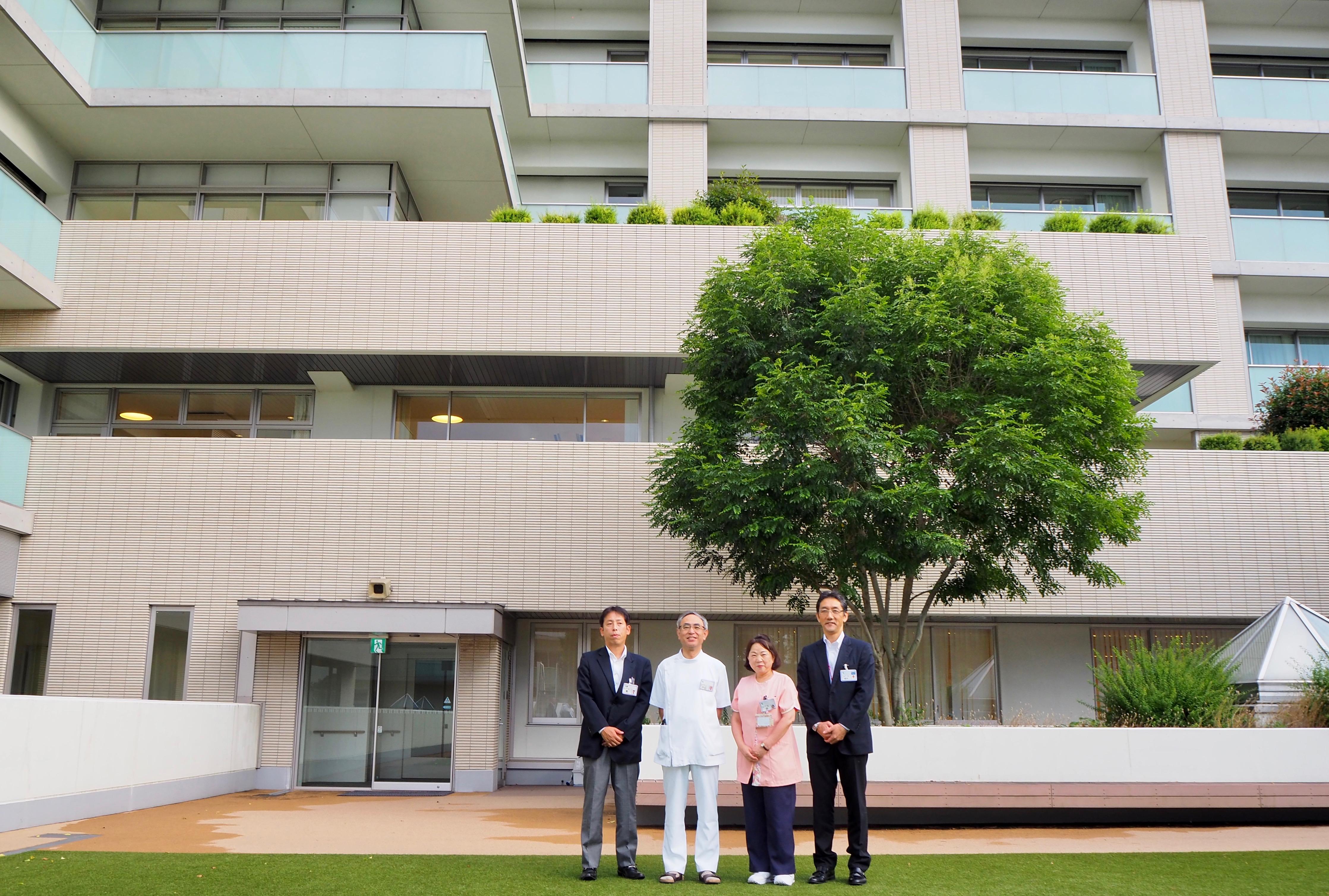 医療・介護・生活支援を包括的に提供する−複合施設ベルアンサンブル