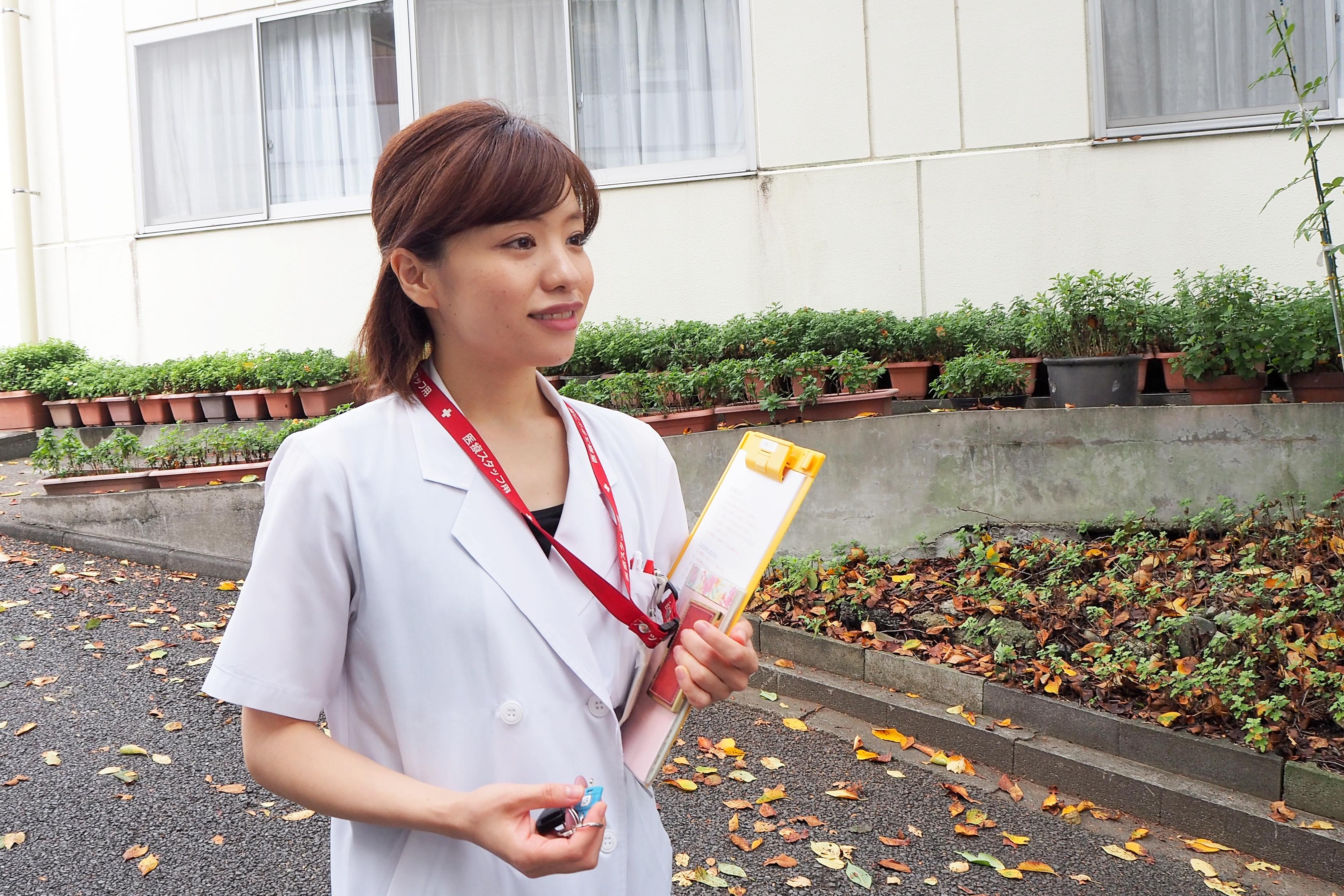 """""""食事""""を通して患者さんの不安を取り除けるように――松葉杏子さんのあゆみ"""