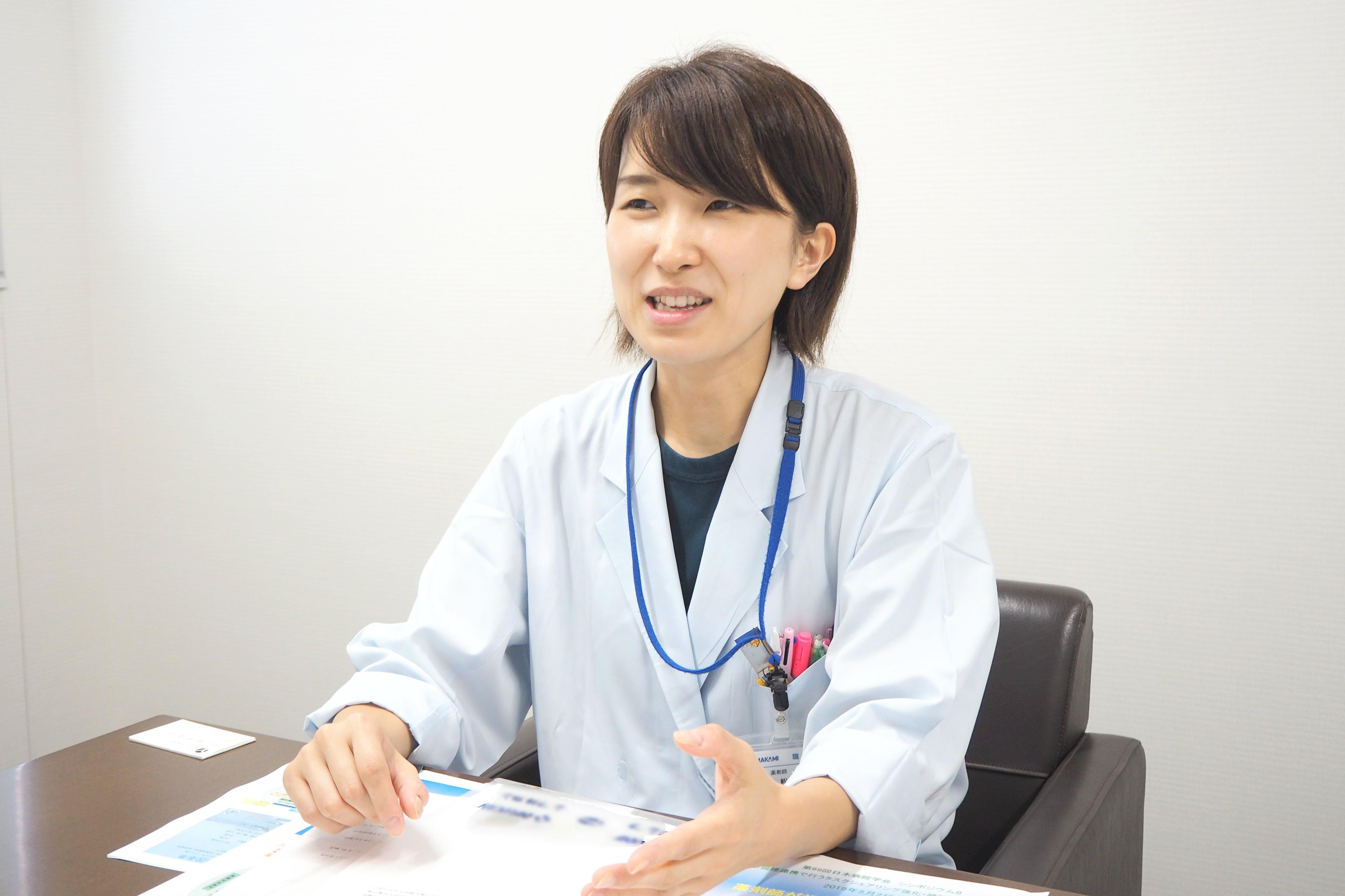 病院薬剤師という仕事にやりがいを感じて――熊野 晶子さんの思い