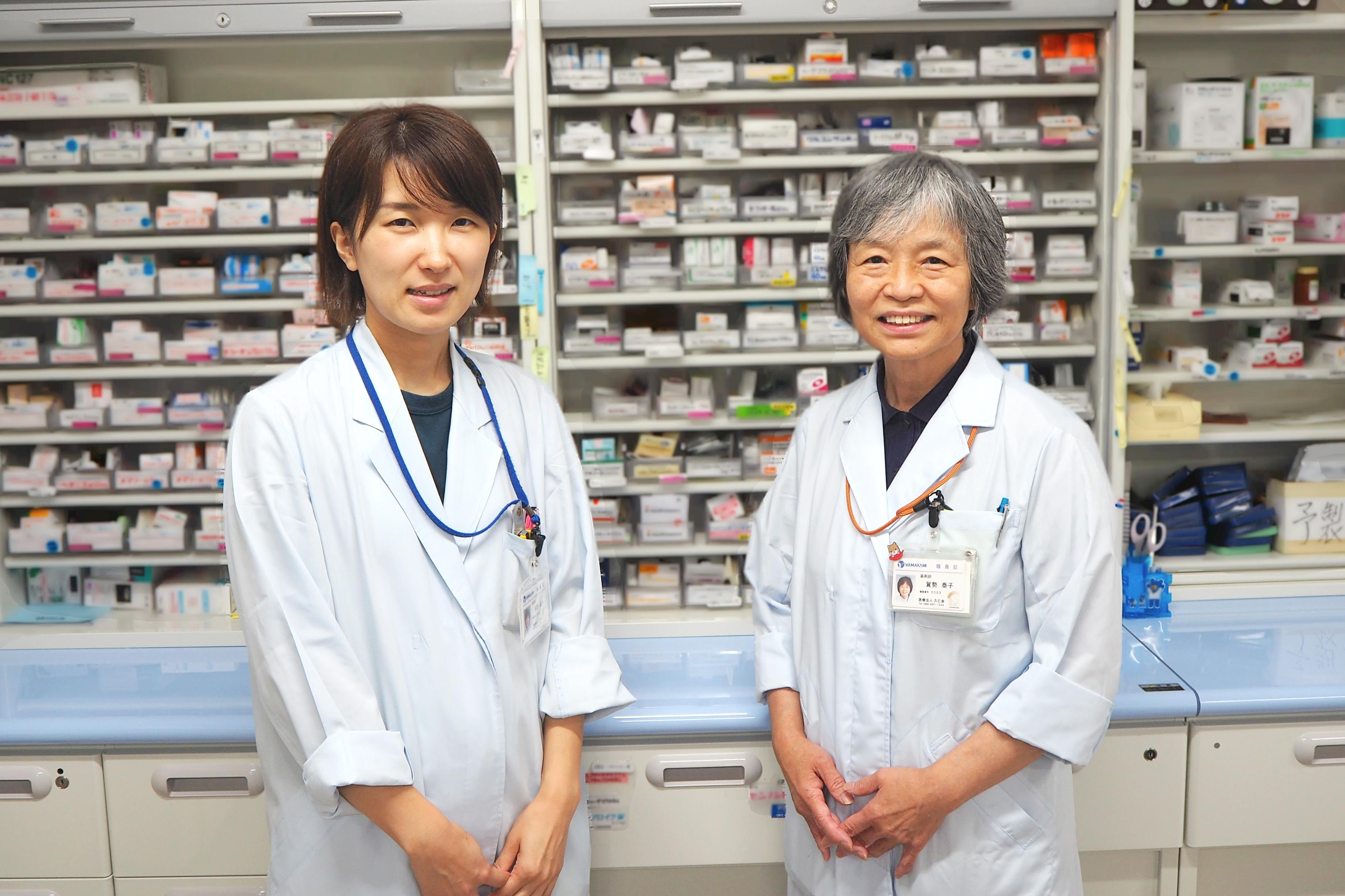 鳴門山上病院薬剤科の薬剤師業務――入退院支援と医療安全活動について