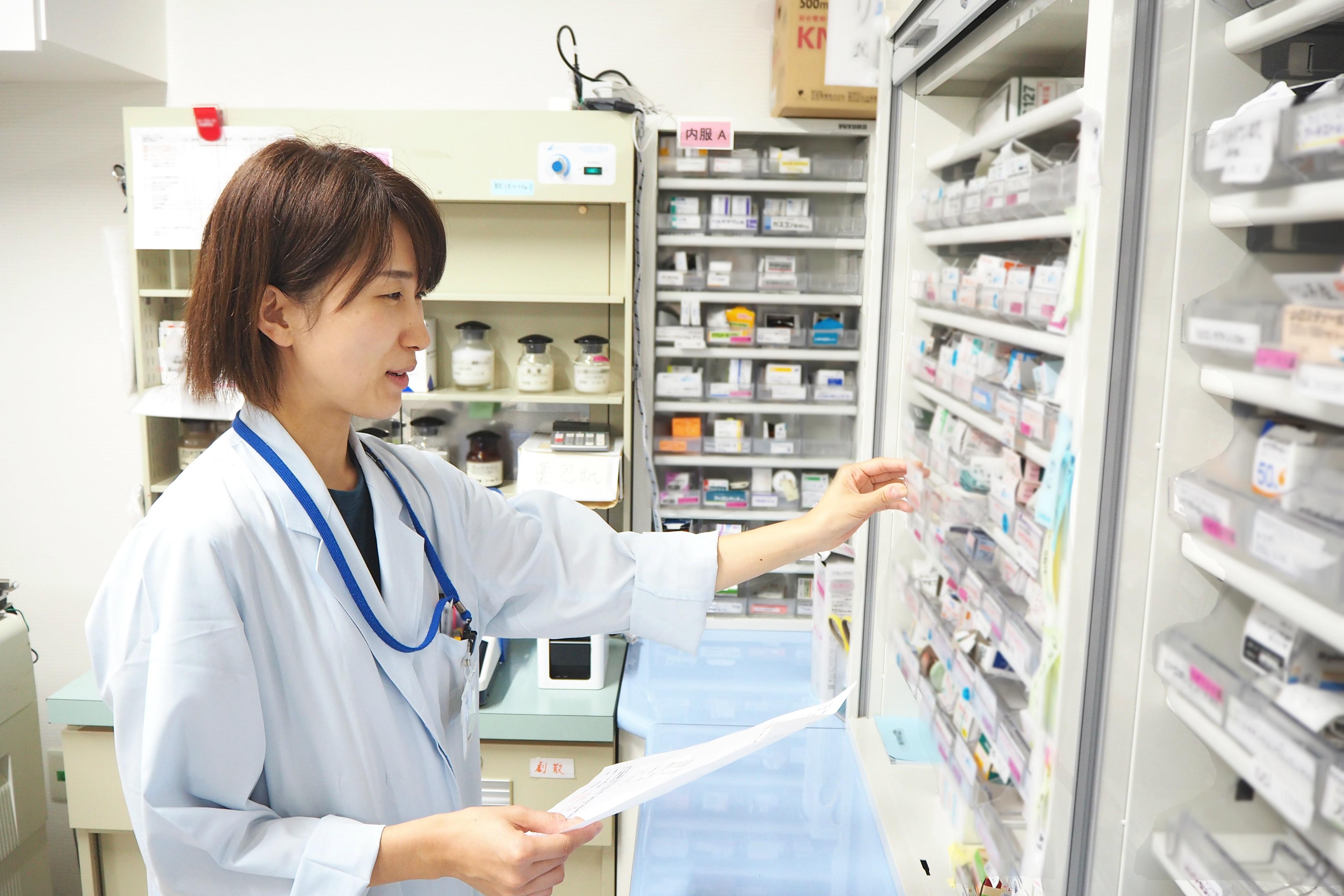 鳴門山上病院における薬剤師の活躍
