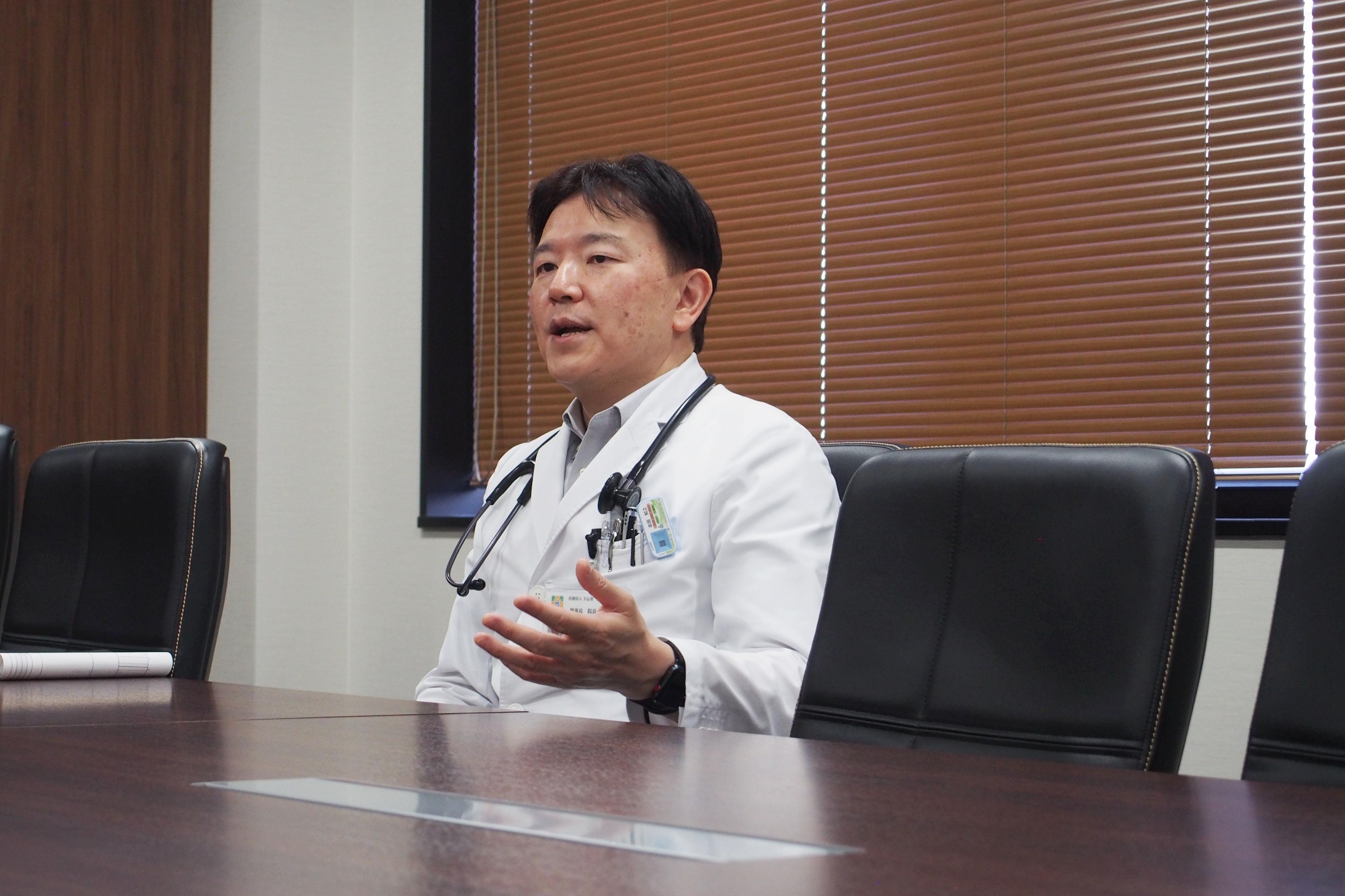 急性期から慢性期まで、100年先もずっと地域を支える病院であり続けたい――志田 知之先生のあゆみ