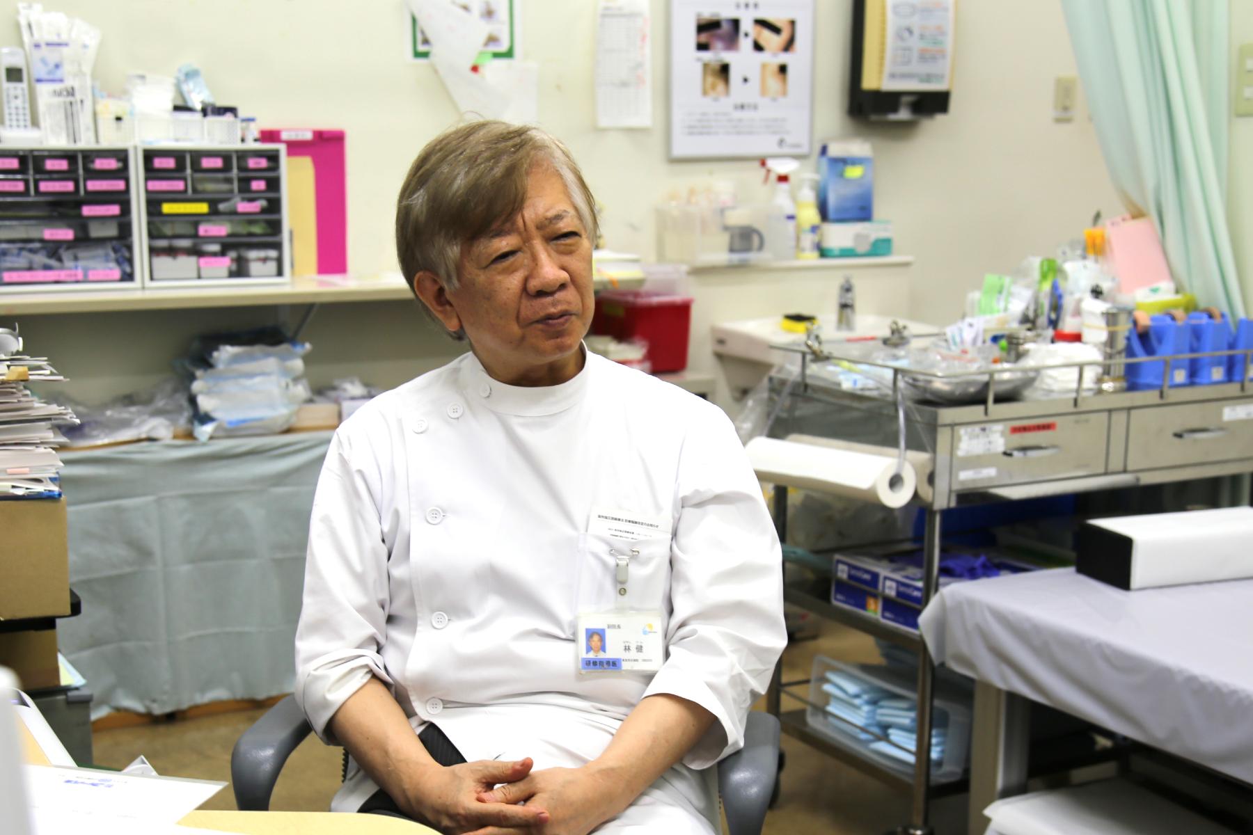 皮膚外科医として患者さんに最善の医療を提供したい――林 健先生の思い