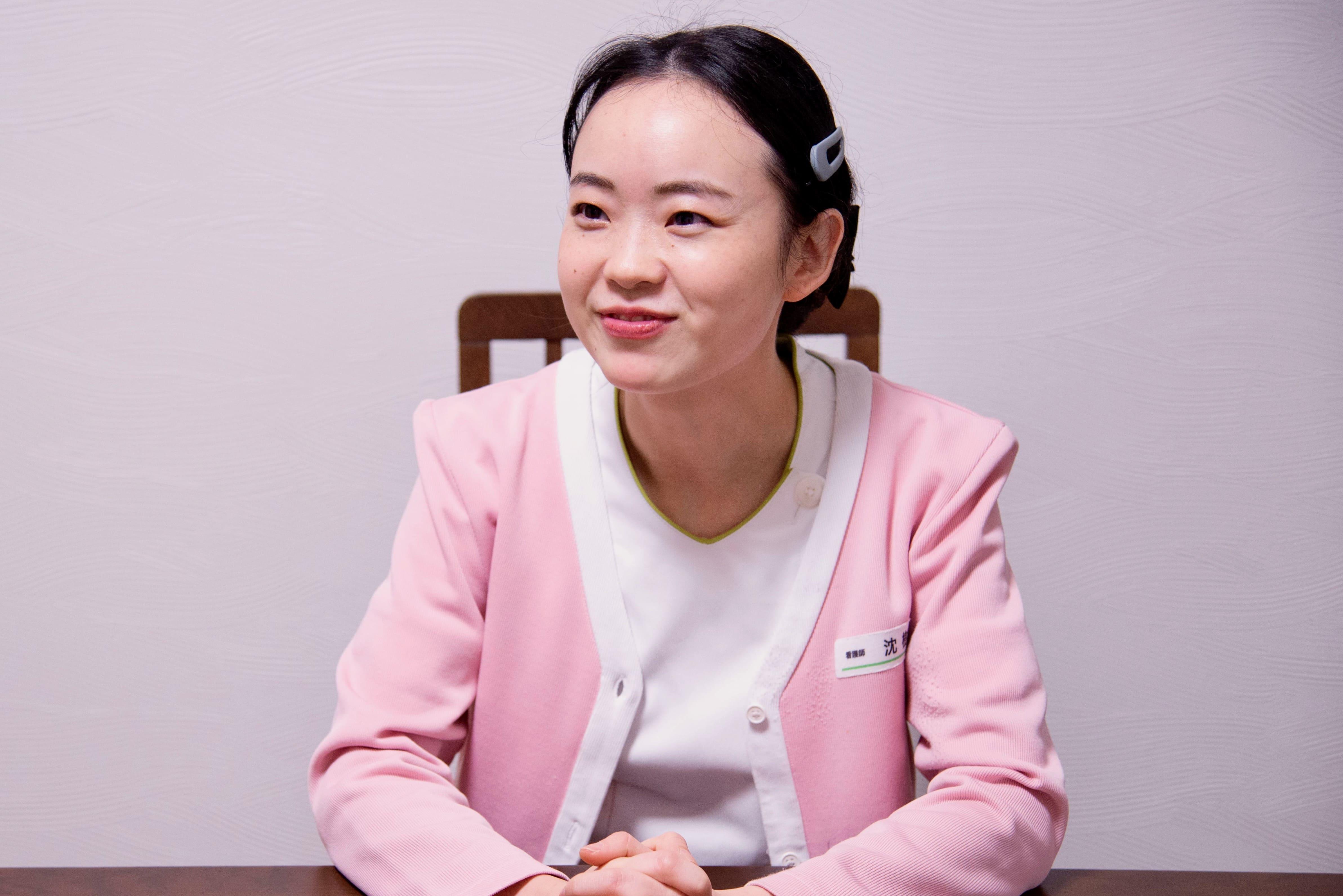 中国から来日し看護師として働く沈樹敏さんのあゆみと思い【前編】